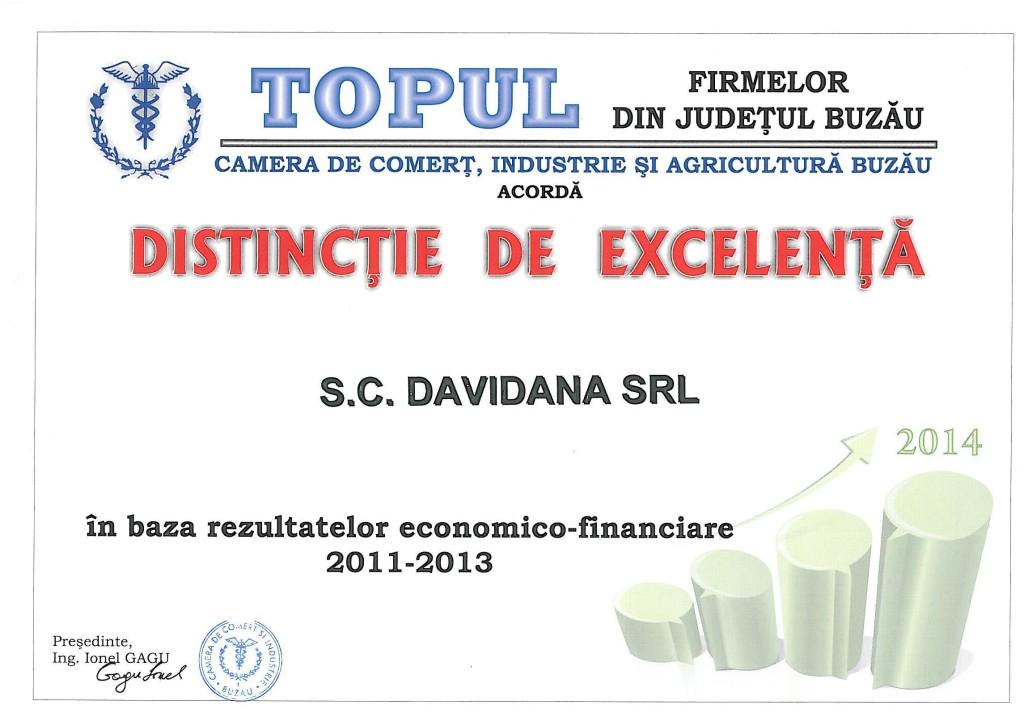 Diploma de excelenta 2014